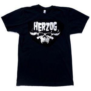 Herzog/Danzig logo parody cinema humor t shirt